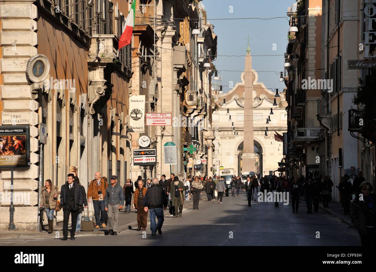 Via del corso stock photos via del corso stock images for Corner via del corso roma