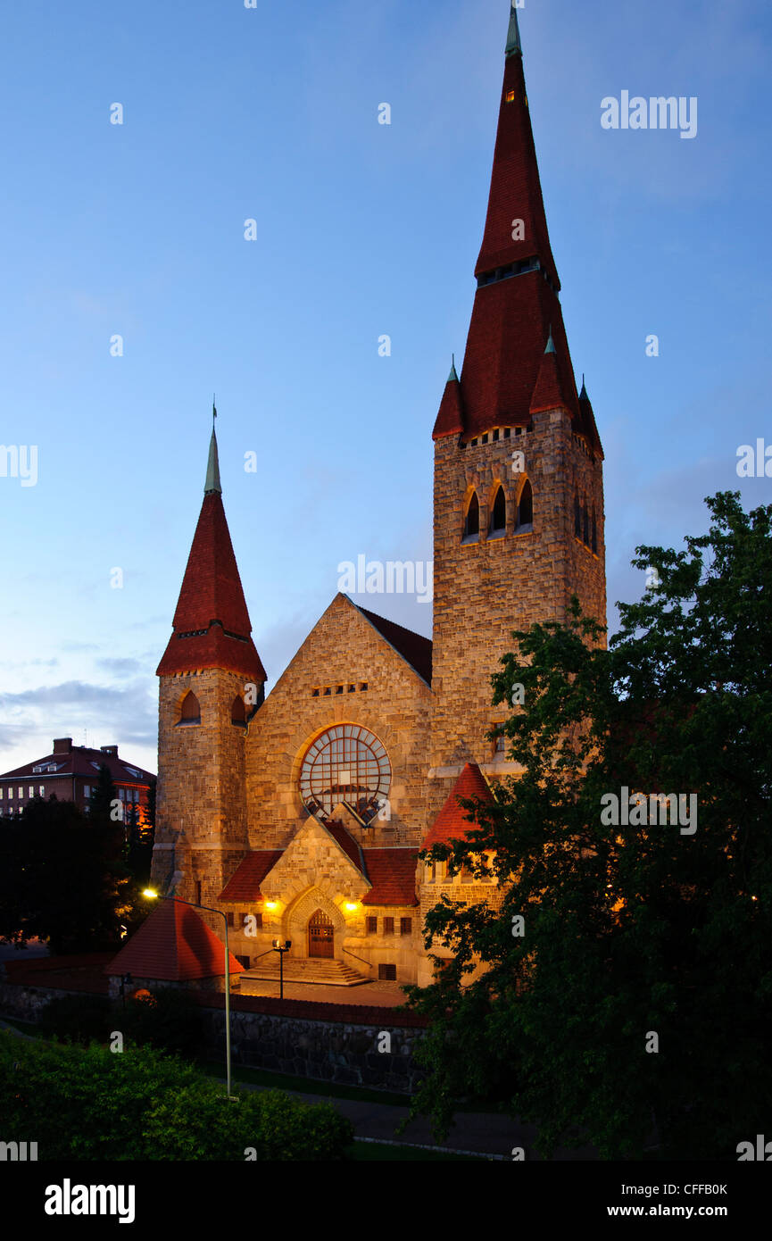 The Cathedral in Tampere, Finland - Stock Image