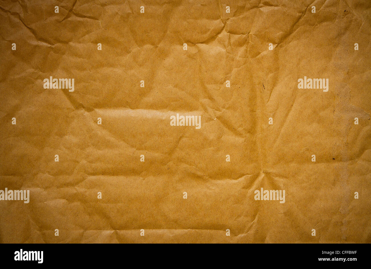 the old brown paper background texture - Stock Image