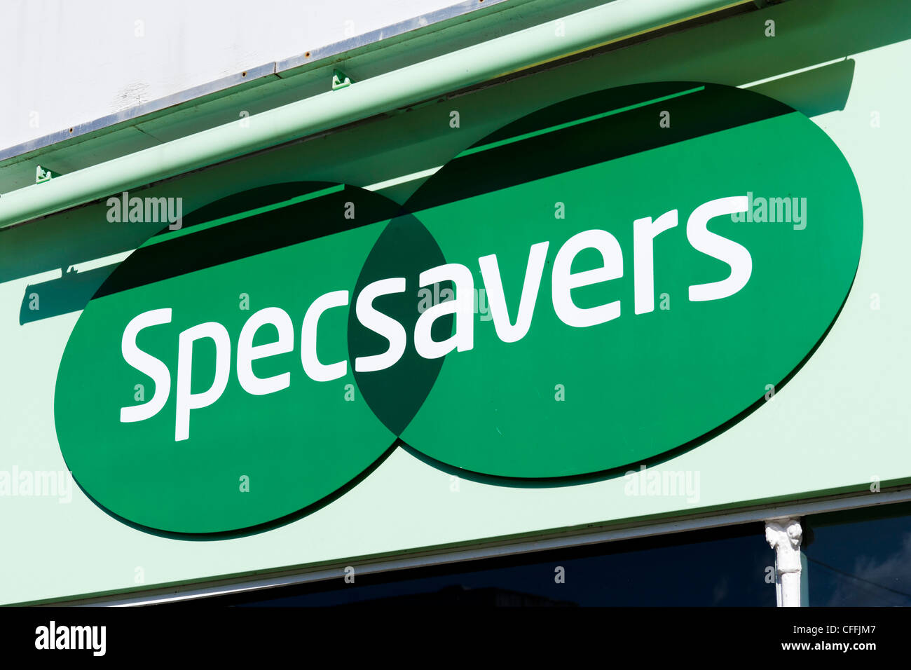 Specsavers optician on the High Street in Burton-upon-Trent, Staffordshire, England, UK - Stock Image
