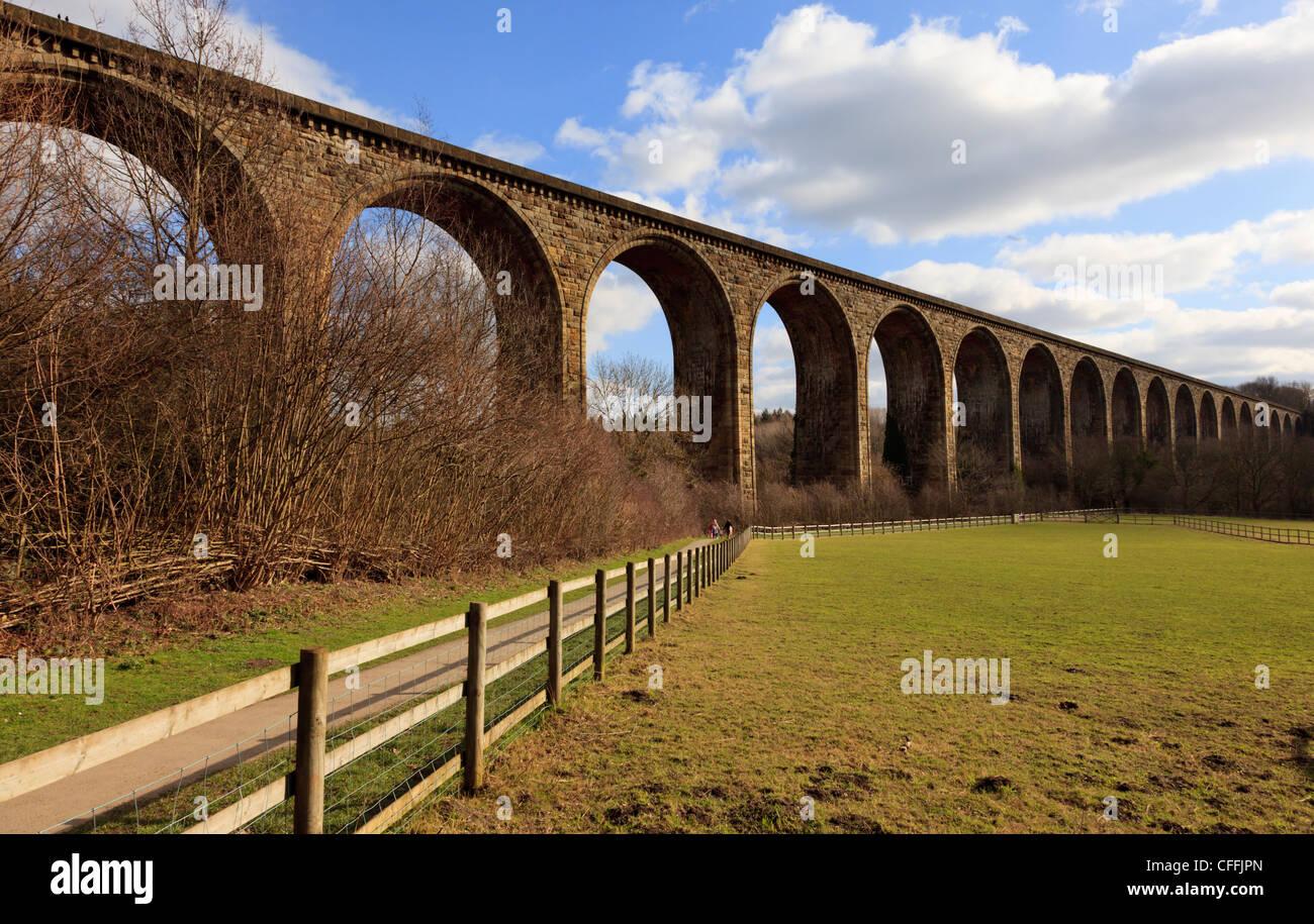 Ty Mawr Country Park, Cefn Mawr near Wrexham - Stock Image