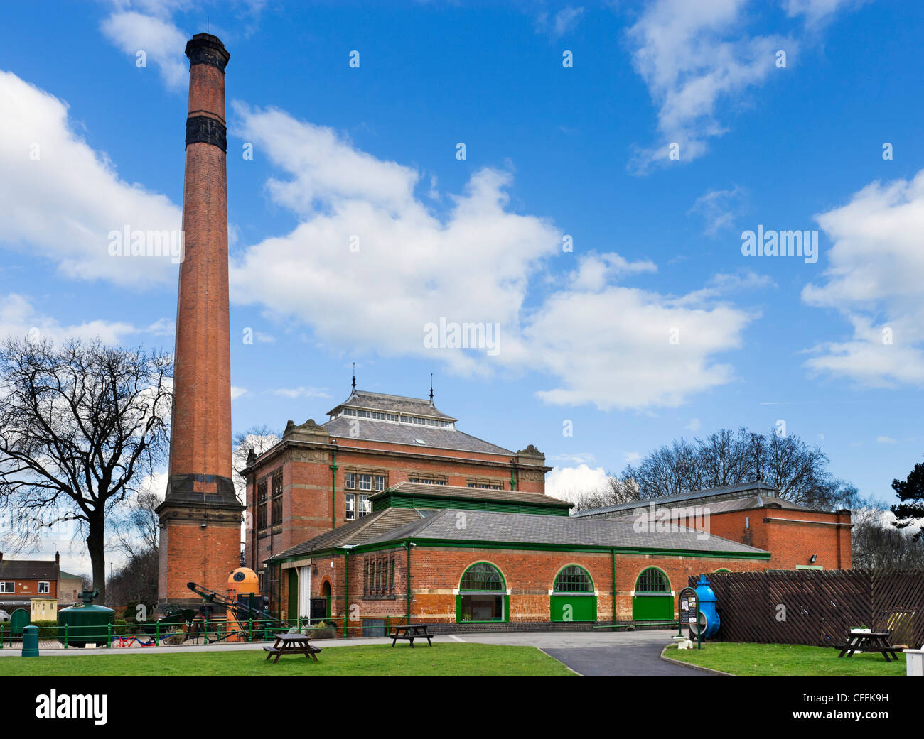 Abbey Pumping Station museum, Leicester, Leicestershire, England, UK - Stock Image