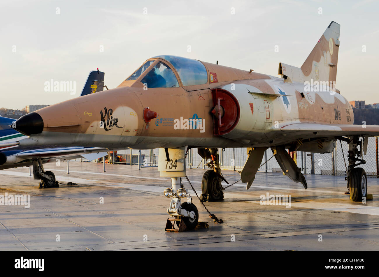 Israel Aircraft Industries Kfir - Stock Image