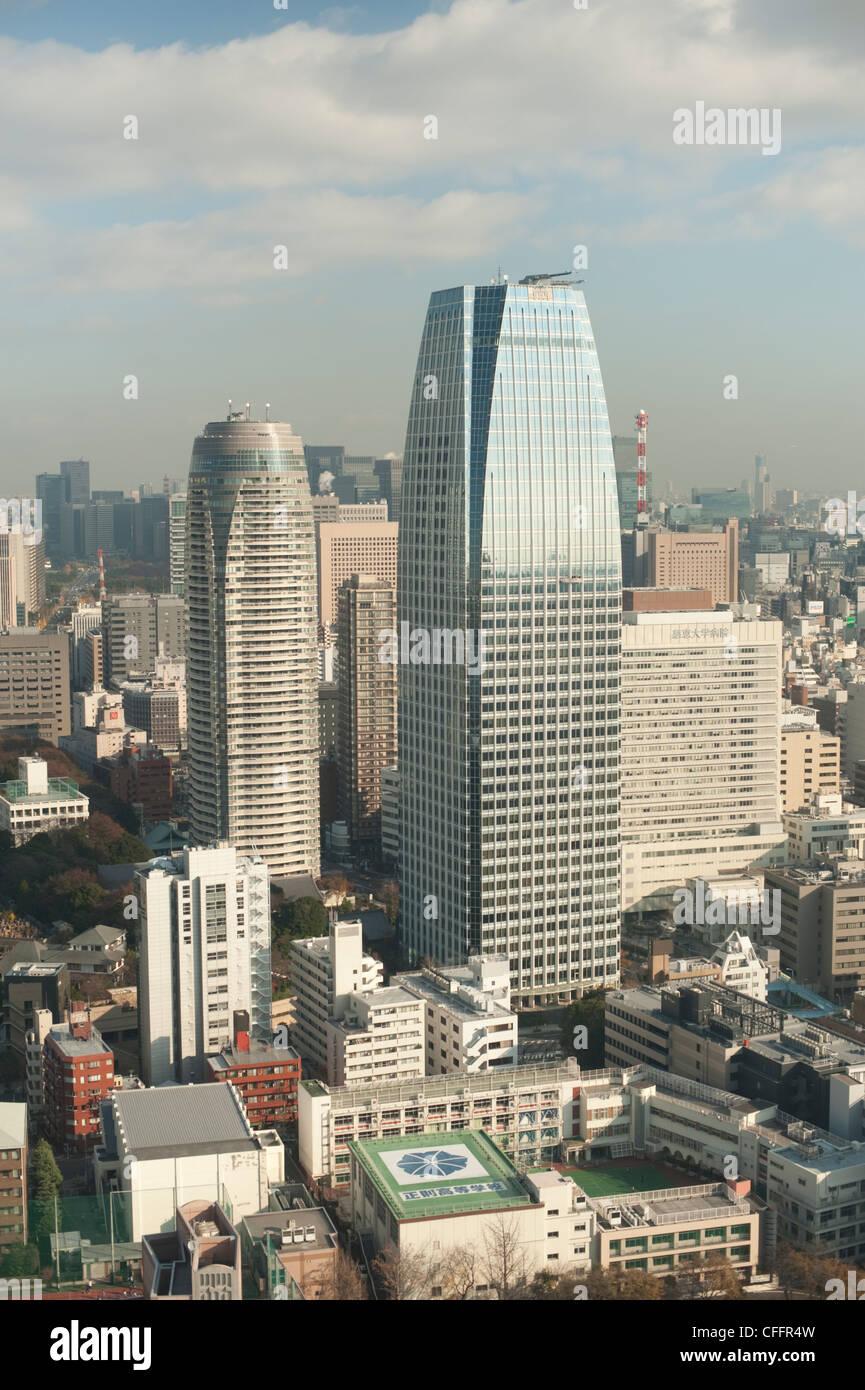 Tokyo Sky Scrapers - Stock Image