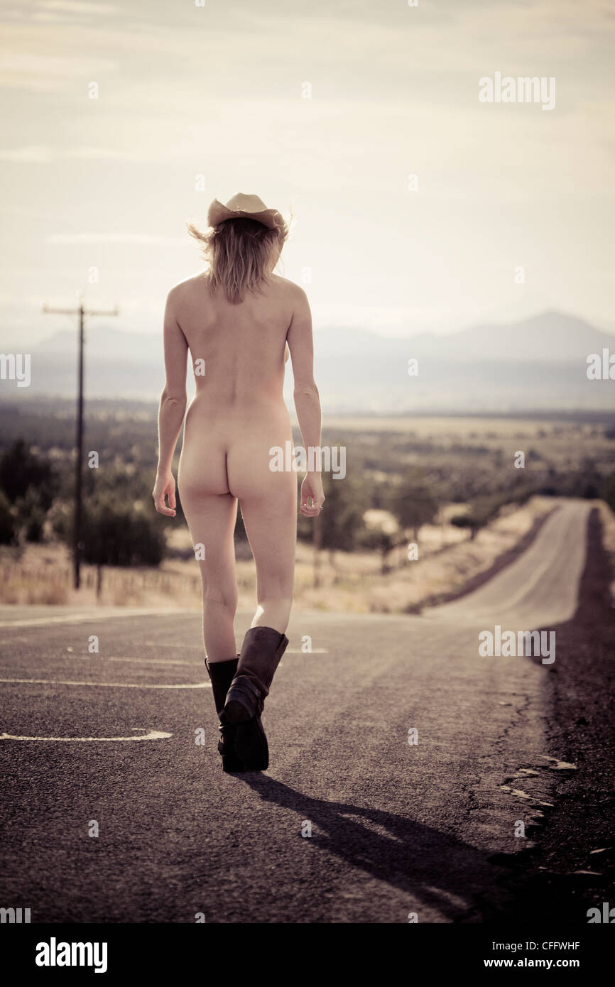 Boots and naked