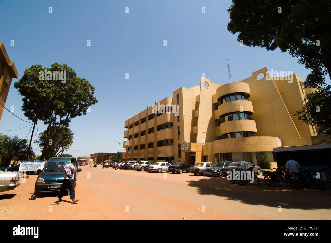 The Center Of Ouagadougou Capital Of Burkina Faso Stock Photo Alamy