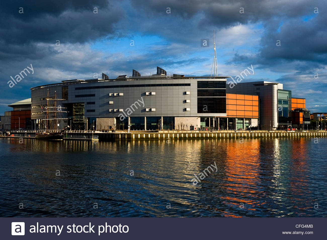 Odyssey Arena in Belfast. - Stock Image