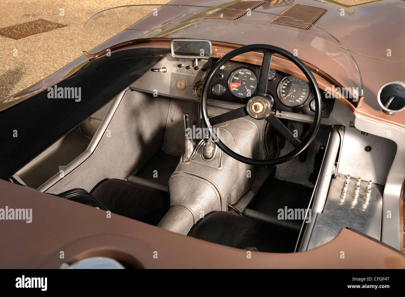 1956 Jaguar C type - Stock Image