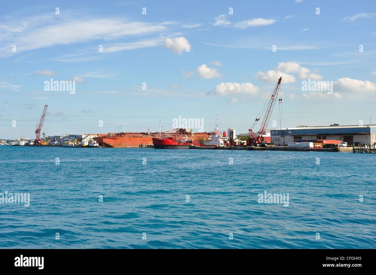 Port, Nassau, Bahamas - Stock Image