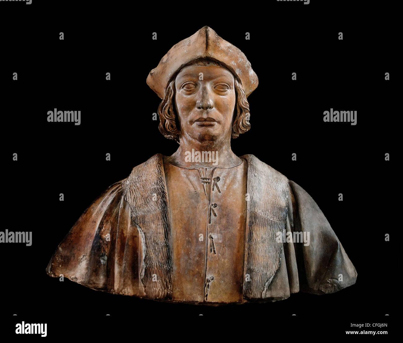 Antoine Duprat 1463-1535 cardinal chancellor king Francois I France France French - Stock Image