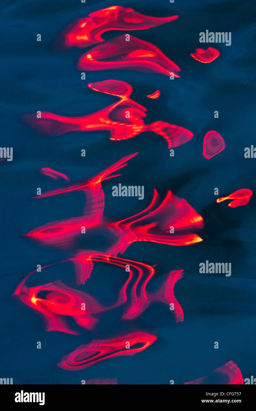 Abstract Art Water Art - Stock Image