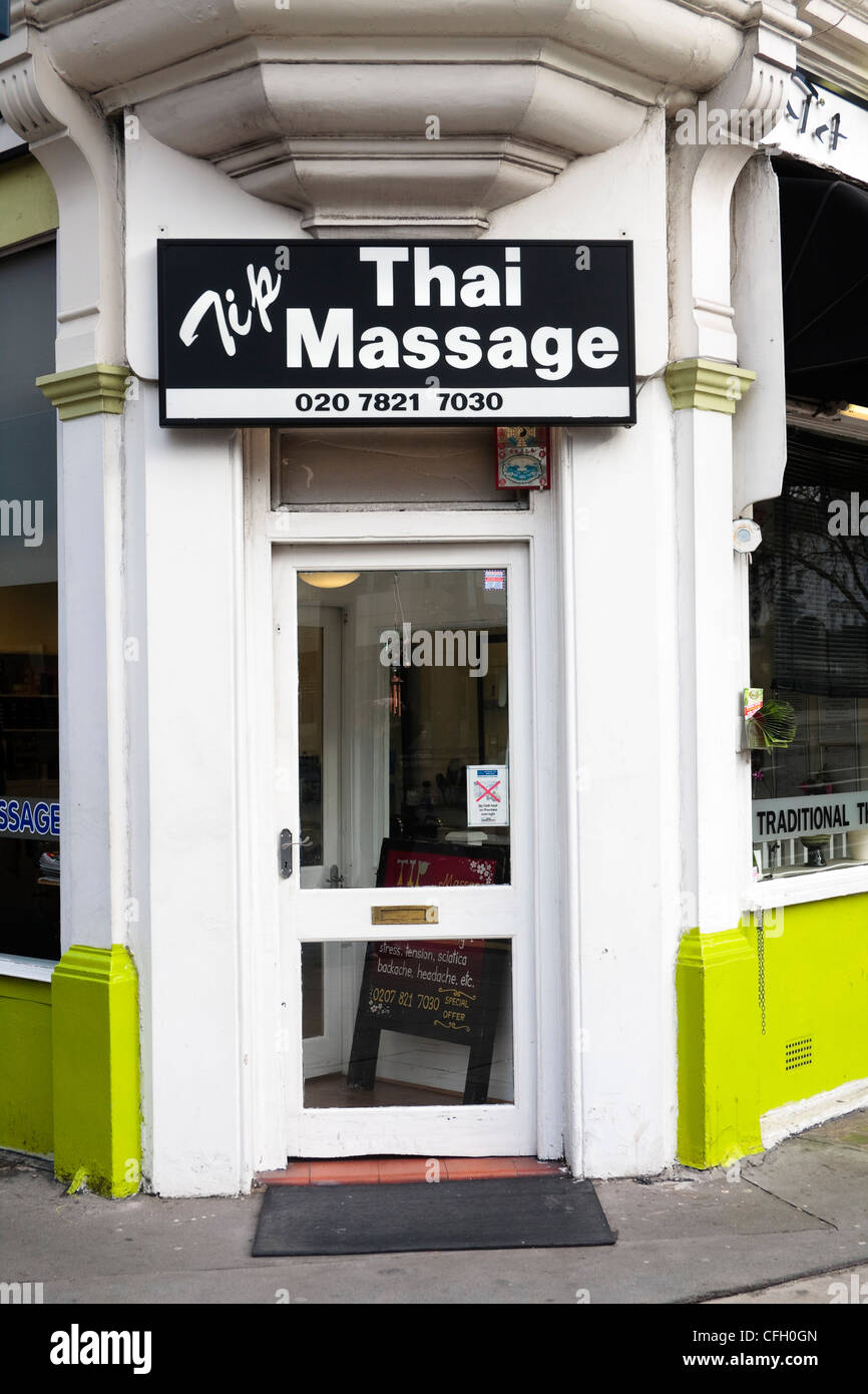 Massage parlour london