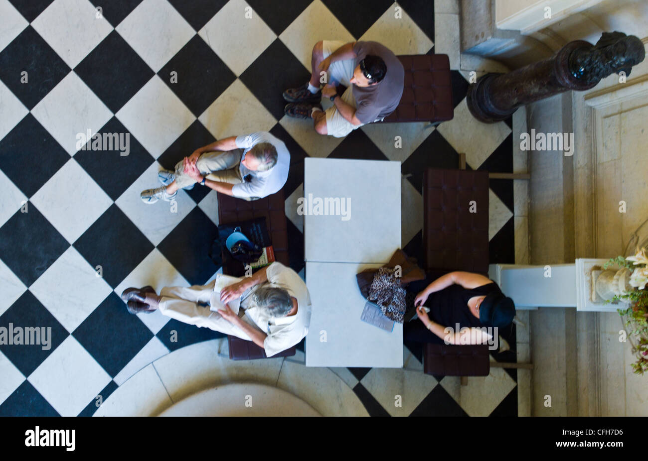 France, Paris, 7th arrondissement, indoors of the Rodin museum - Stock Image