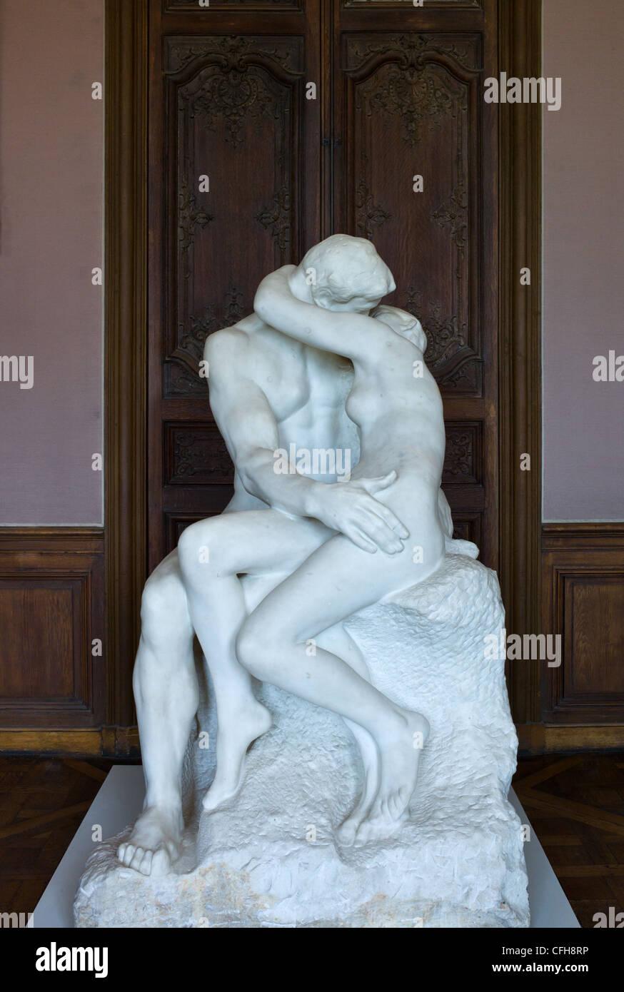 France, Île de France, Paris, sculpture in the Rodin Museum - Stock Image