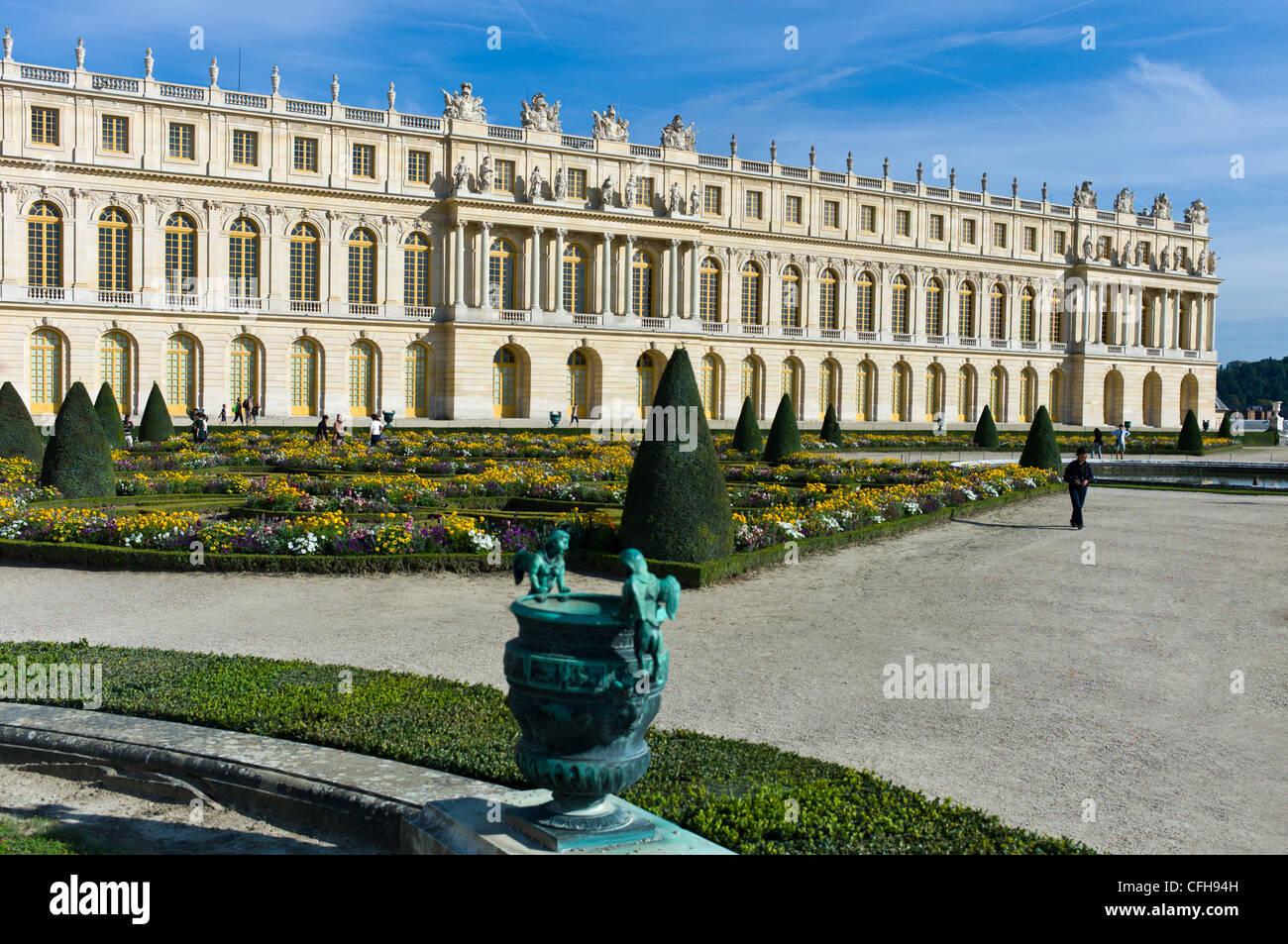 France, Ile de France, Yvelines, Versailles castle, the gardens - Stock Image