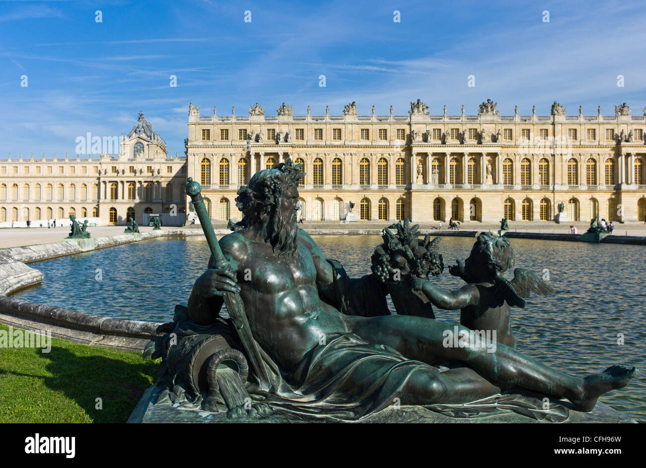 France, Ile de France, Yvelines, Versailles castle - Stock Image