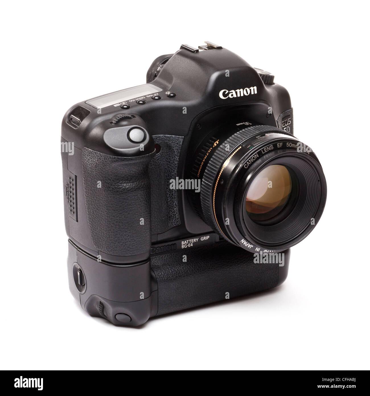 Digital camera - Canon 5D DSLR - Stock Image