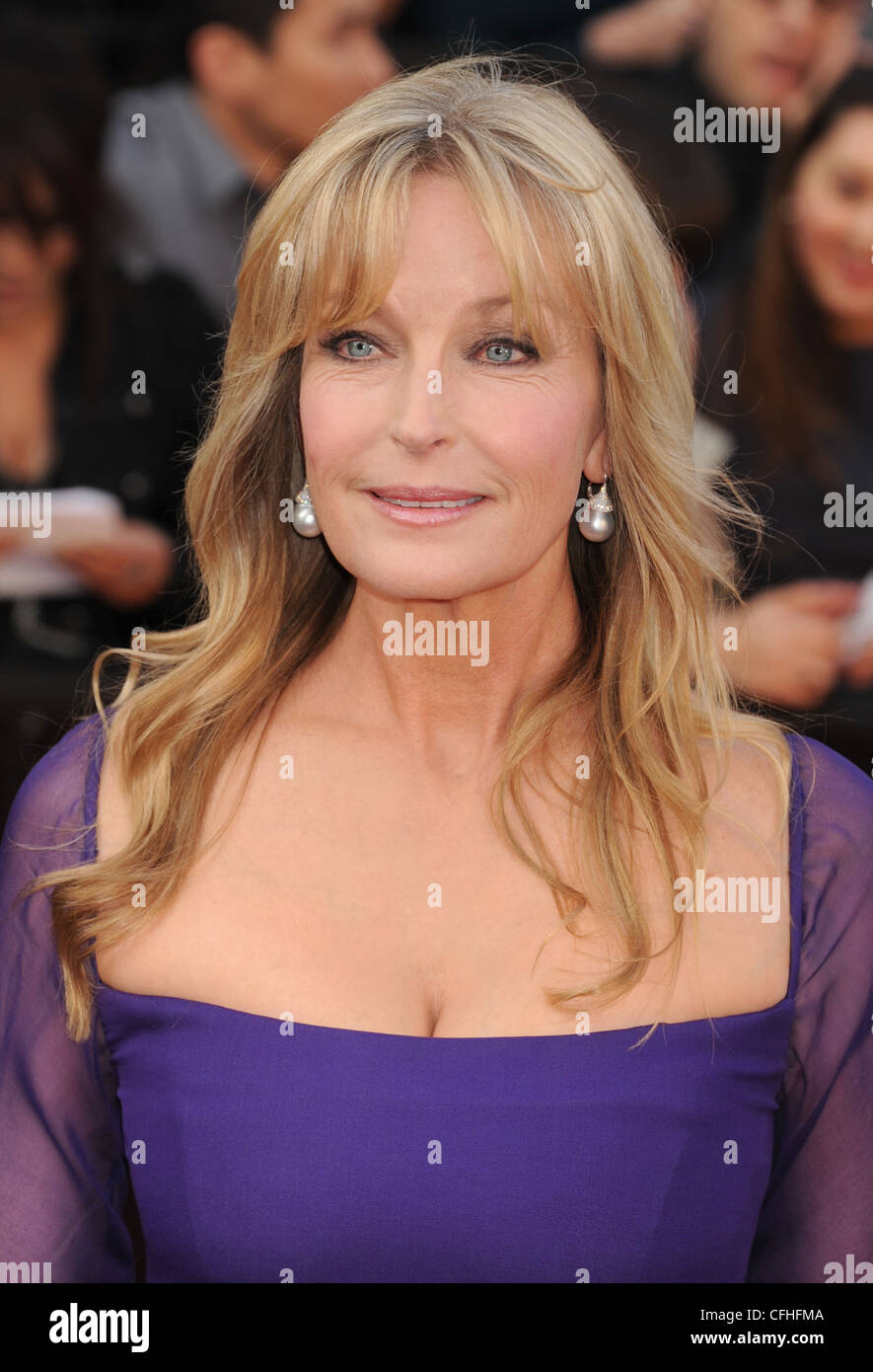 BO DEREK  US film actress in February 2012. Photo Jeffrey Mayer - Stock Image