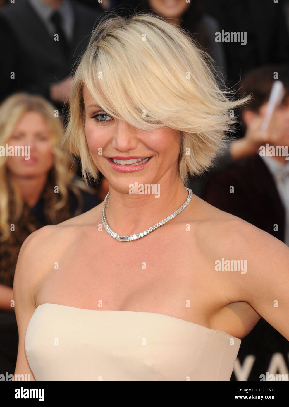 CAMERON DIAZ  US film actress in February 2012. Photo Jeffrey Mayer - Stock Image