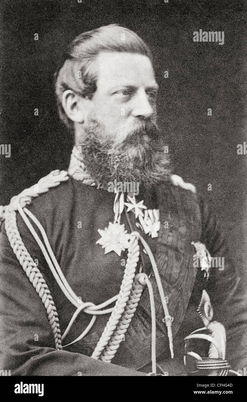Frederick III, 1831 – 1888. German Emperor and King of Prussia. - Stock Image