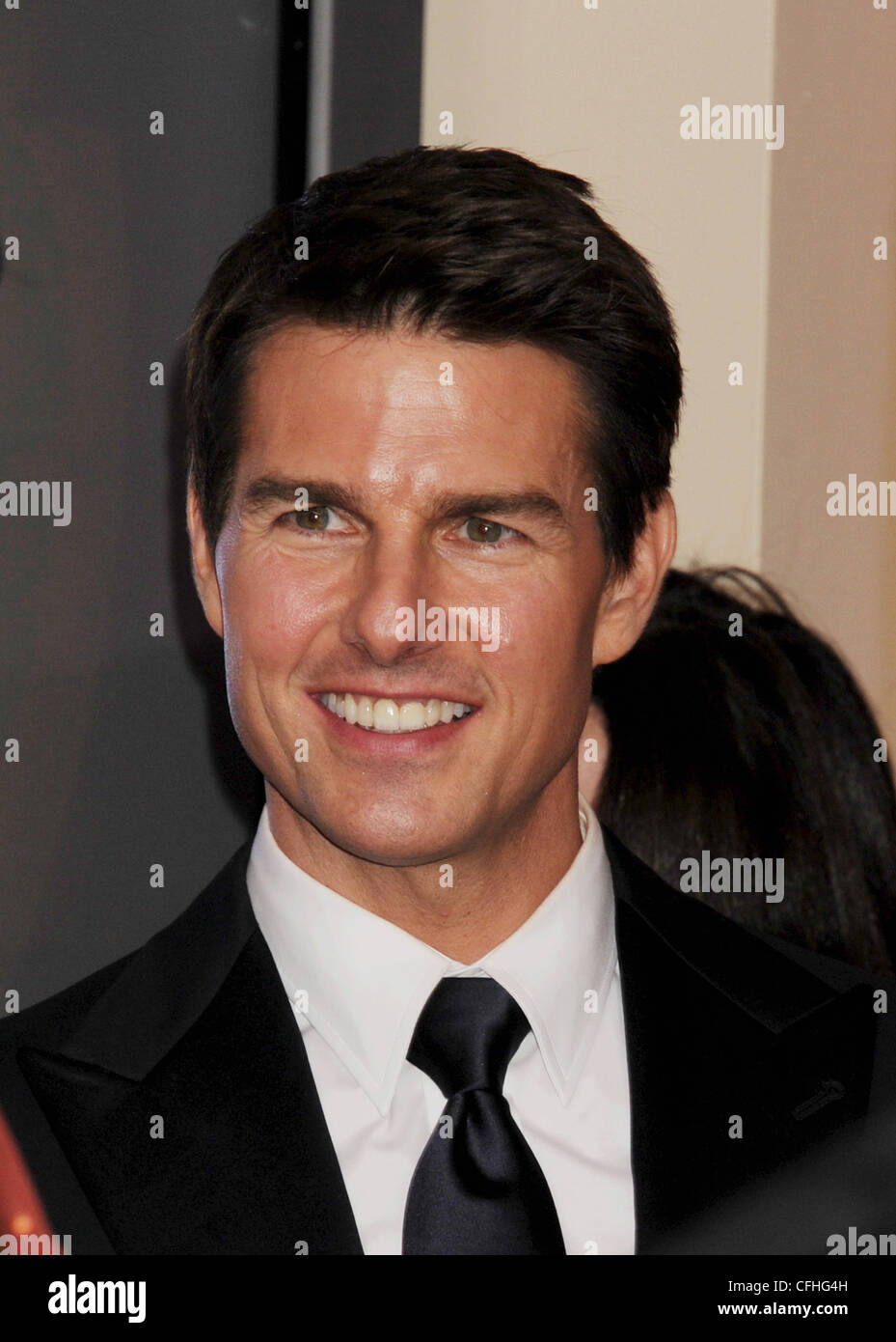 TOM CRUISE US film actor in February 2012. Photo Jeffrey Mayer - Stock Image