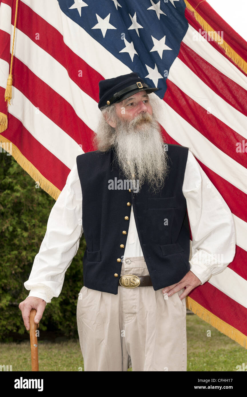 Old glory flag civil war stock photos old glory flag civil war model released a union soldier in a civil war reeanctment in front of the flag thecheapjerseys Choice Image