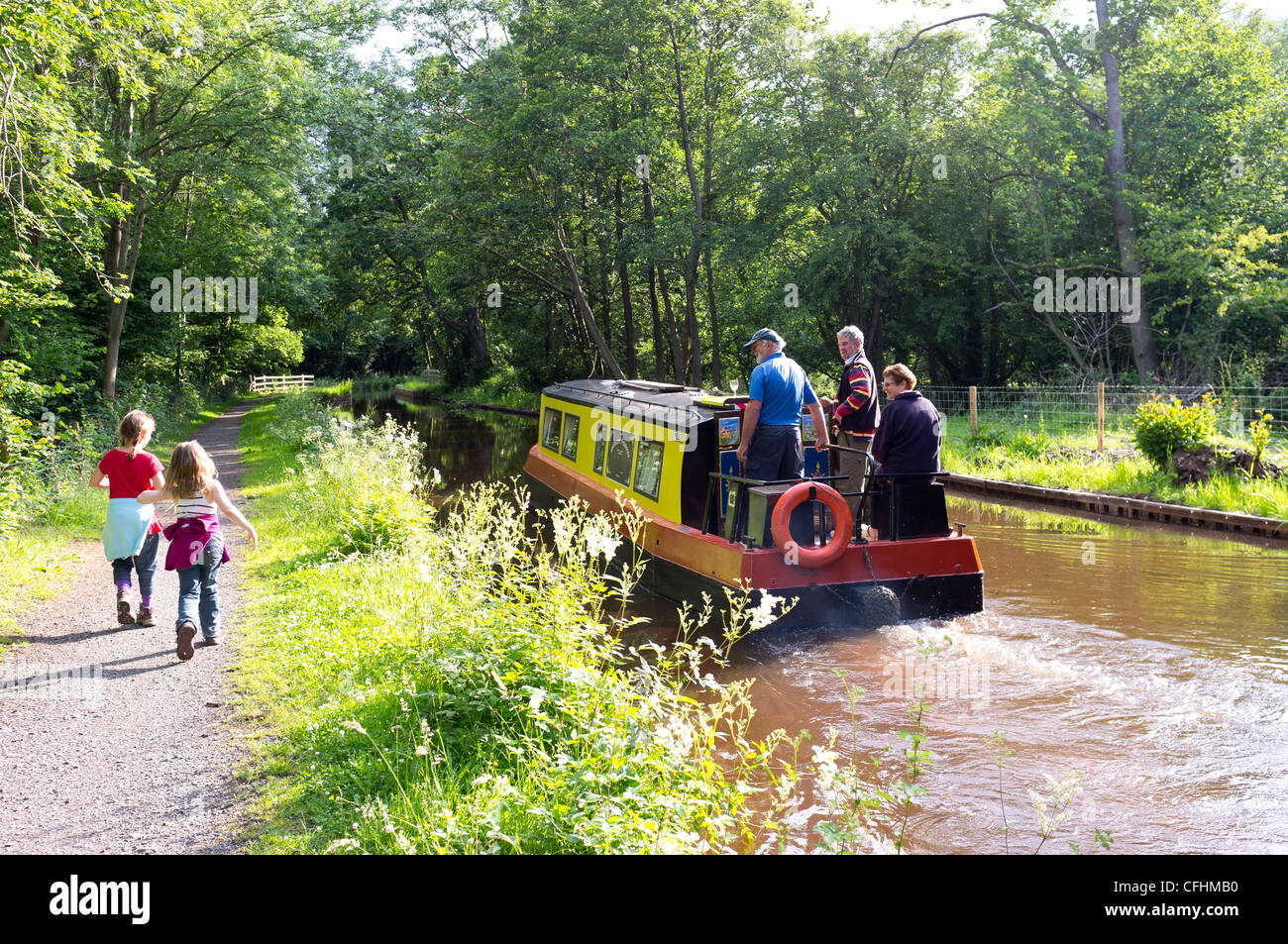 Brecon Canal - Stock Image