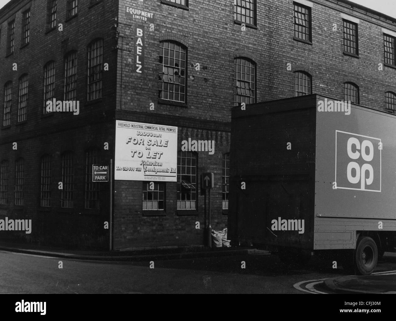 Former Premises, Chubb & Sons Lock & Safe Company Ltd., Wolverhampton, 22 Mar 1982. - Stock Image