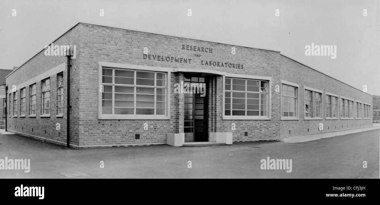 Research and Development Laboratories, Quasi-Arc Company Ltd., Bilston, 1954. Stock Photo