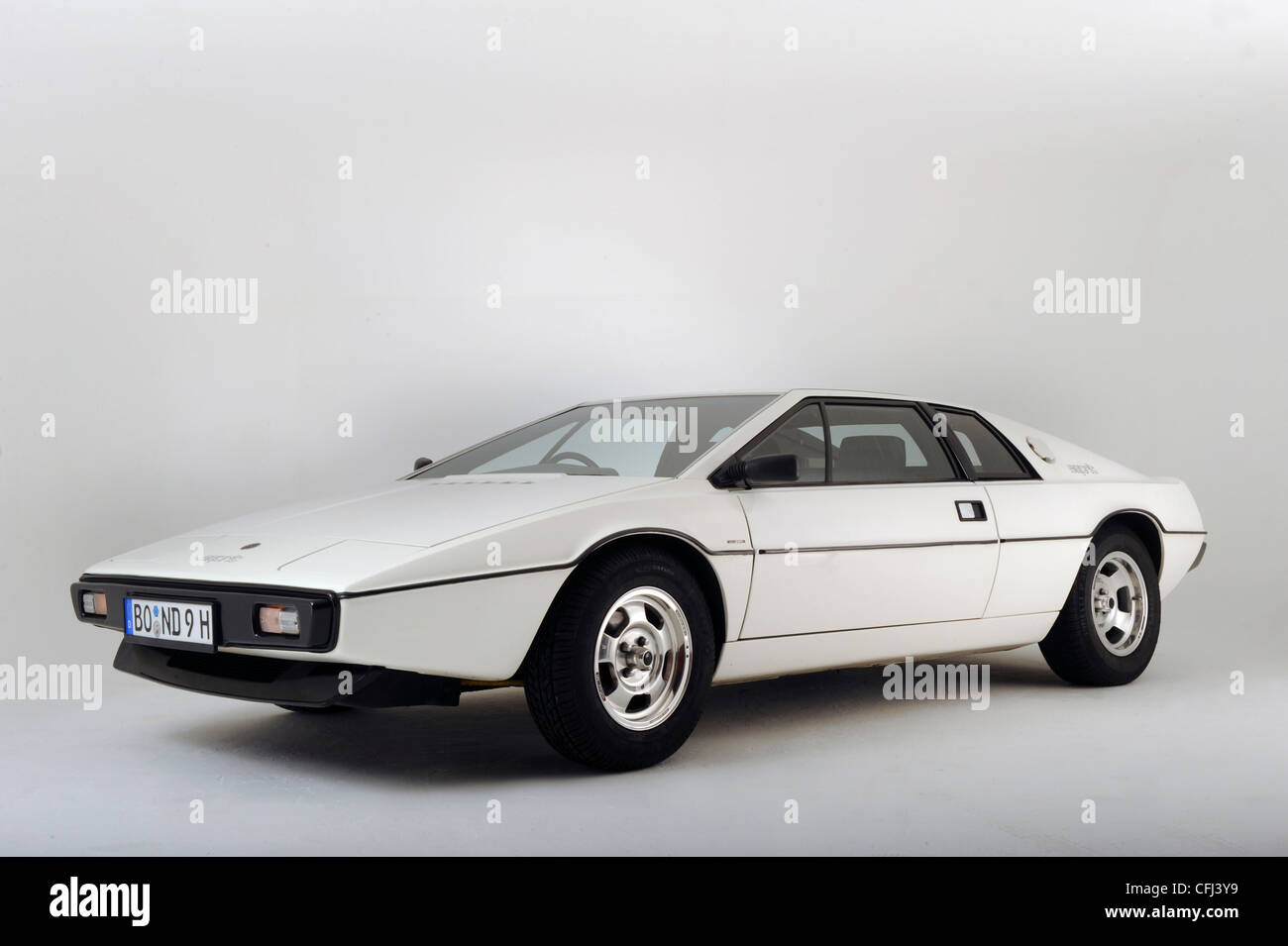 1977 Lotus Esprit from the James Bond film The Spy Who Loved Me - Stock Image