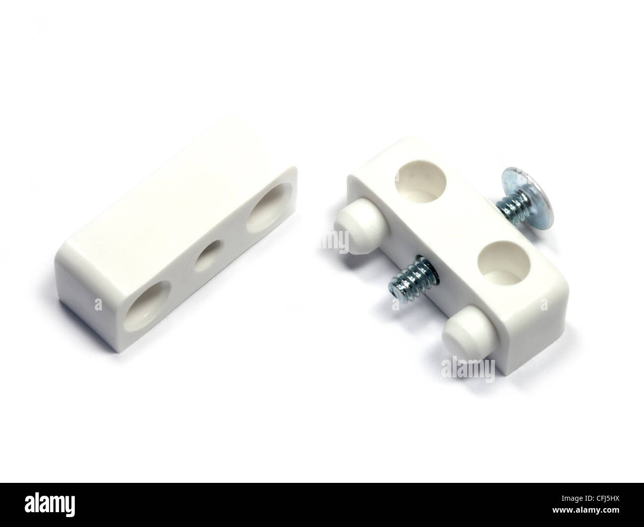 Knock Down Fittings - Stock Image