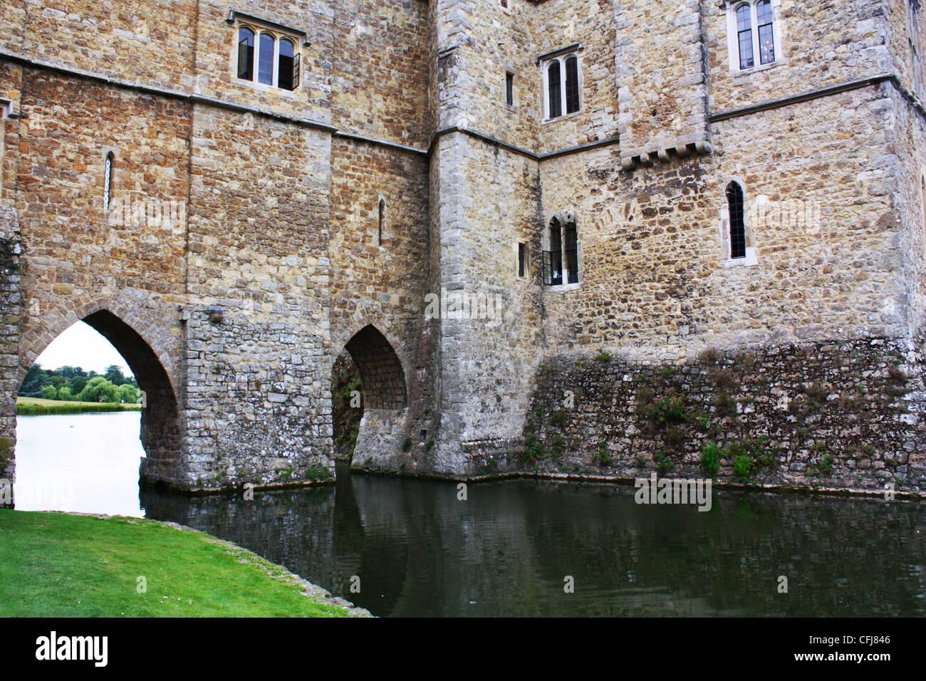 Leeds castle in United Kingdom Stock Photo
