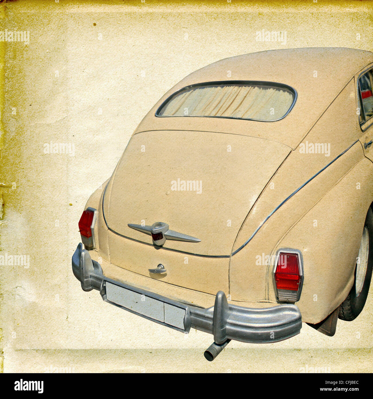 Crumpled Paper Car Stock Photos Images Volvo Pv444 Wiring Diagram Vintage Electrical Texture Of The Old Image