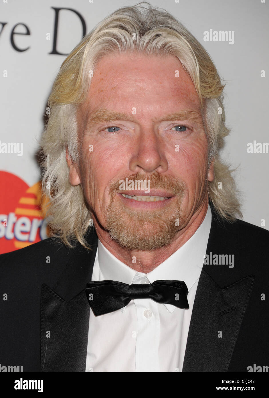 SIR RICHARD BRANSON UK businessman in February 2012. Photo Jeffrey Mayer Stock Photo