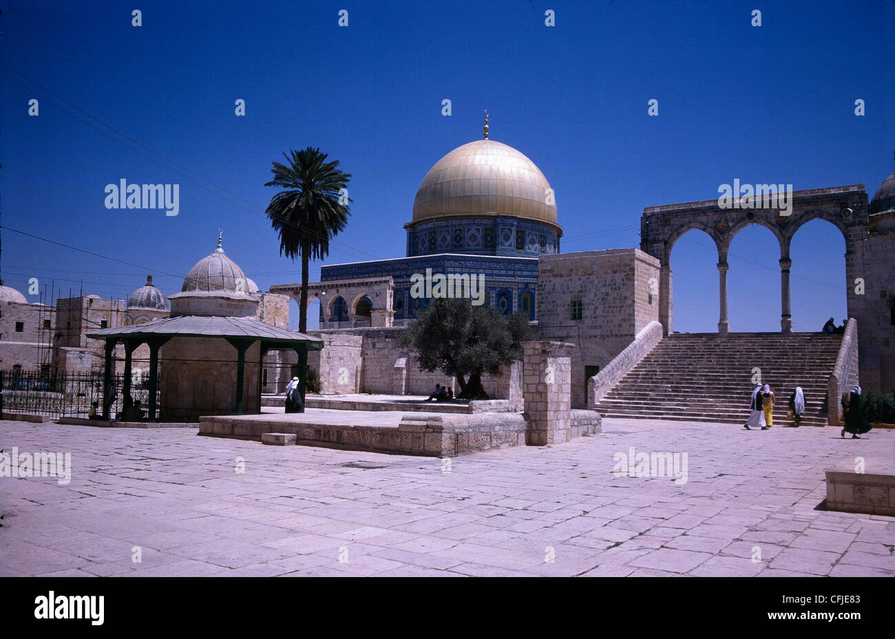 Dome of the Rock 'Al-Quds' Jerusalem - Stock Image