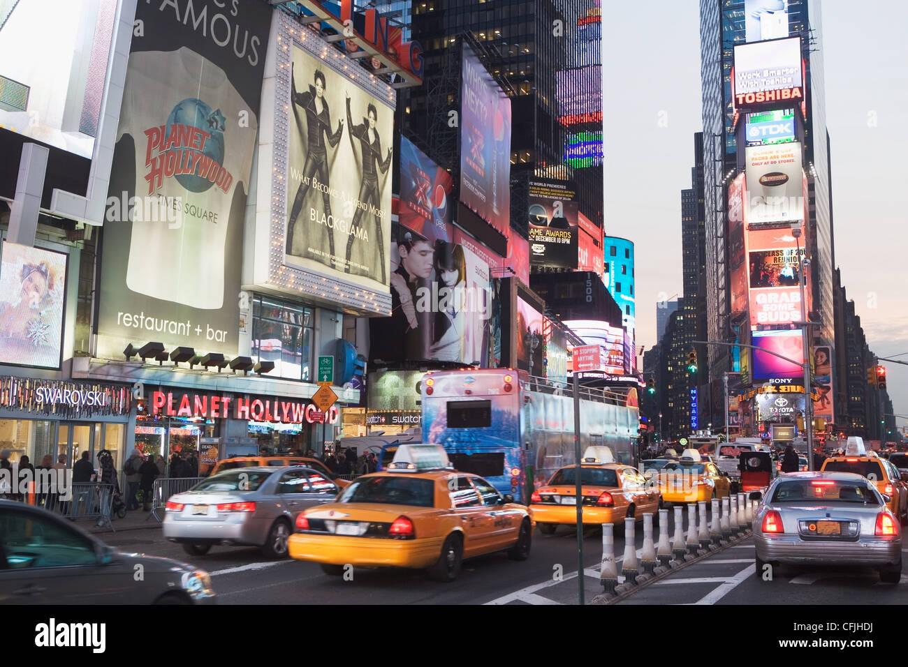Times Square, New York City, USA - Stock Image