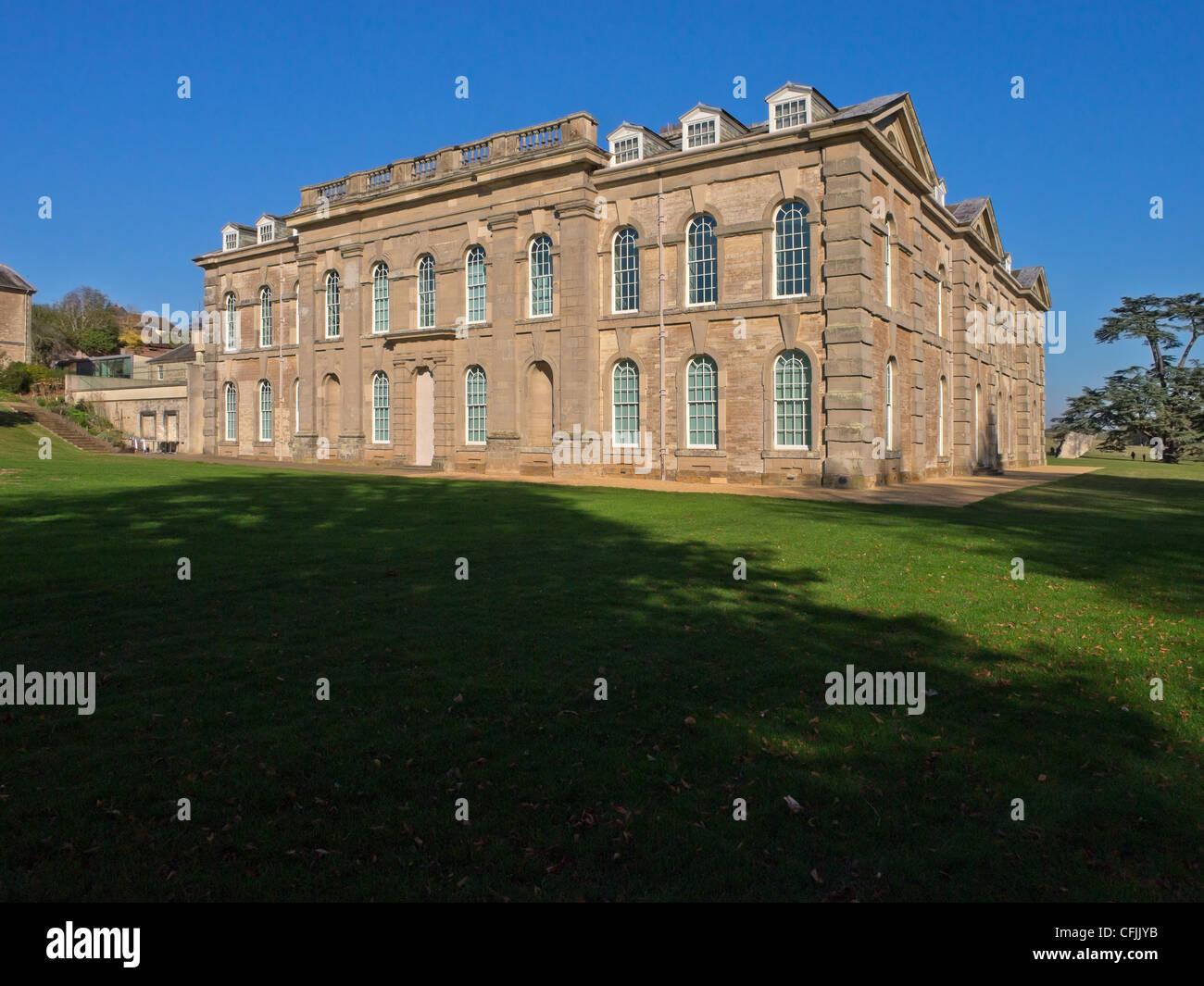 Compton Verney stately home, Warwickshire, England, United Kingdom, Europe - Stock Image