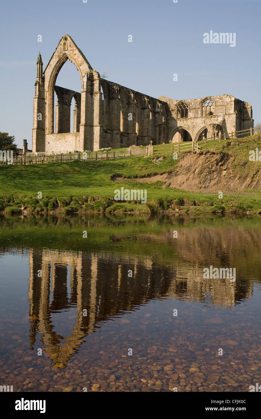Bolton Priory (Abbey), Yorkshire, England, United Kingdom, Europe - Stock Image