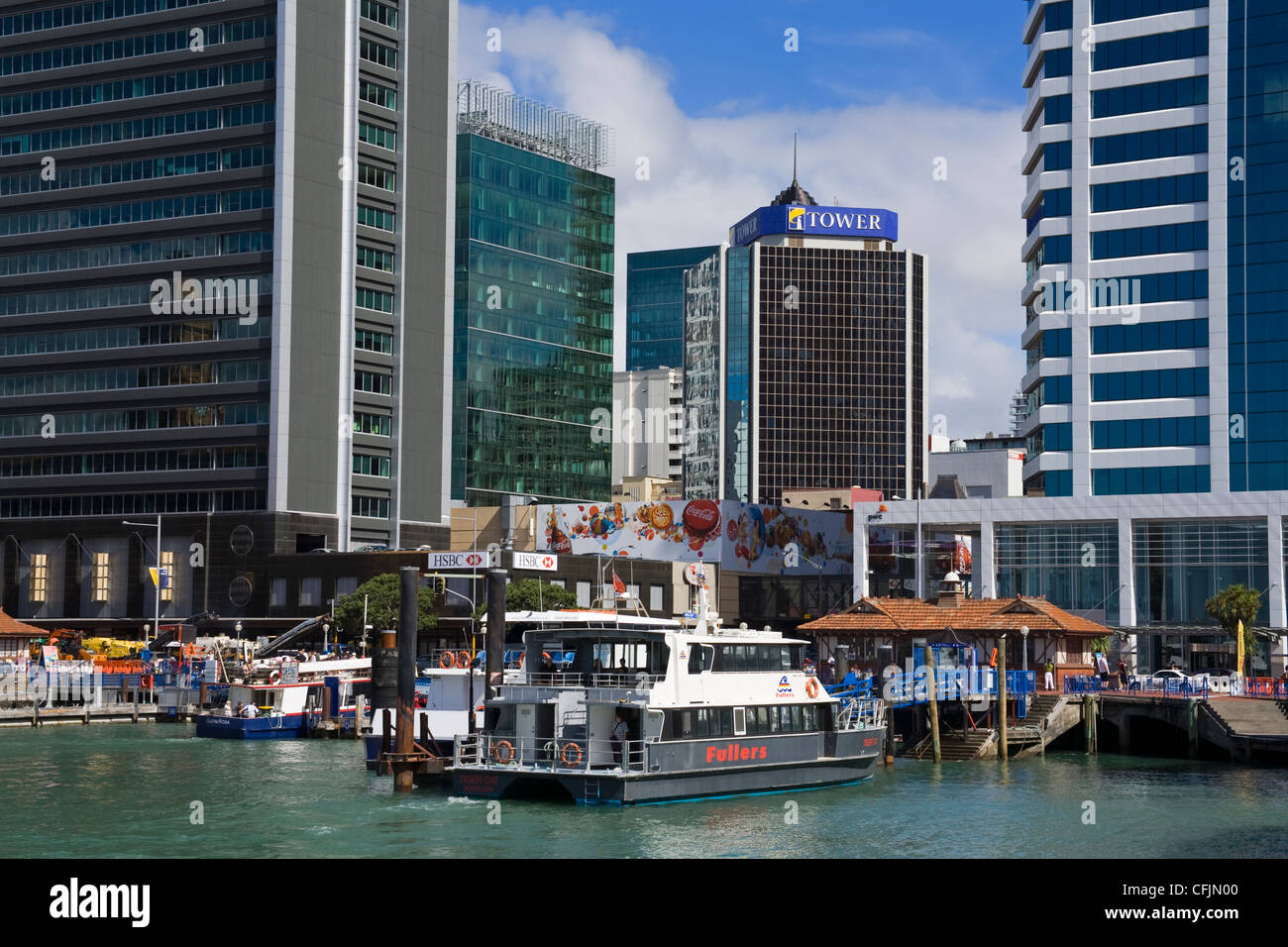 Central Business District, Auckland, North Island, New Zealand, Pacific - Stock Image