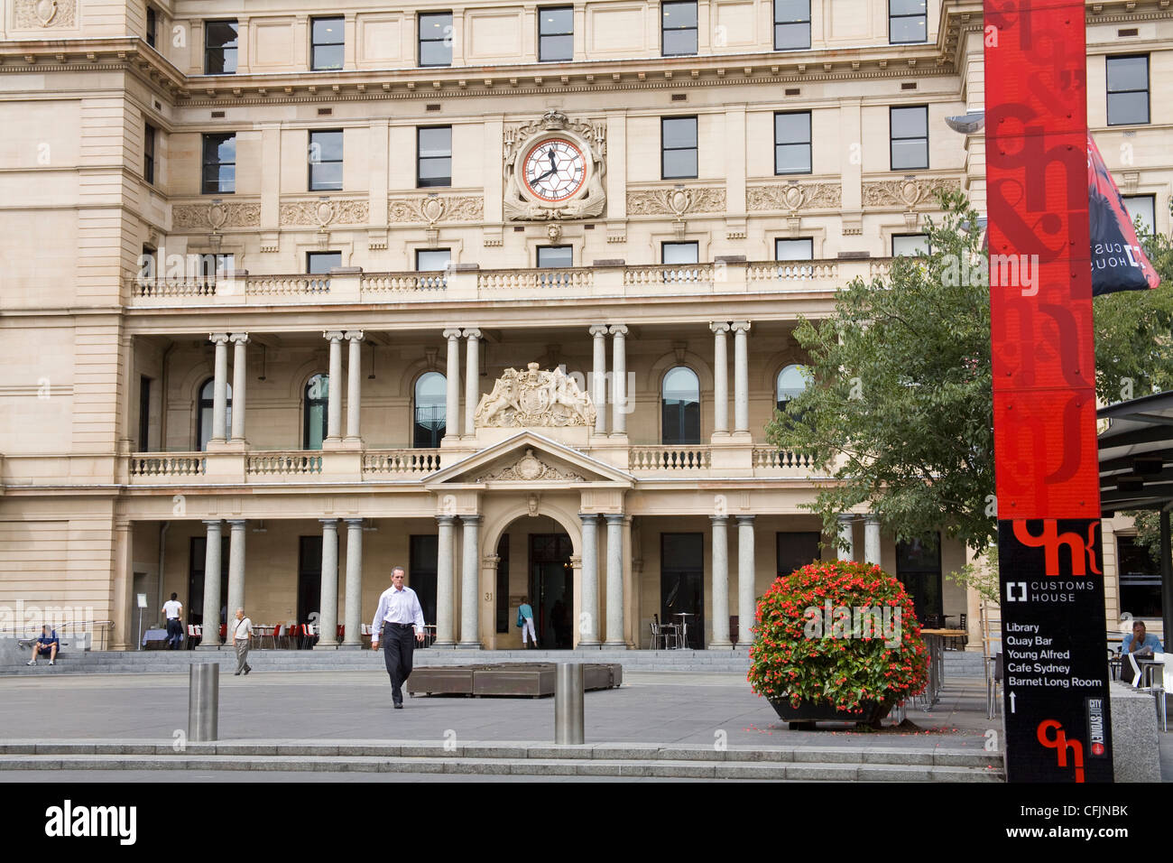 Customs House on Circular Quay, Sydney, New South Wales, Australia, Pacific - Stock Image
