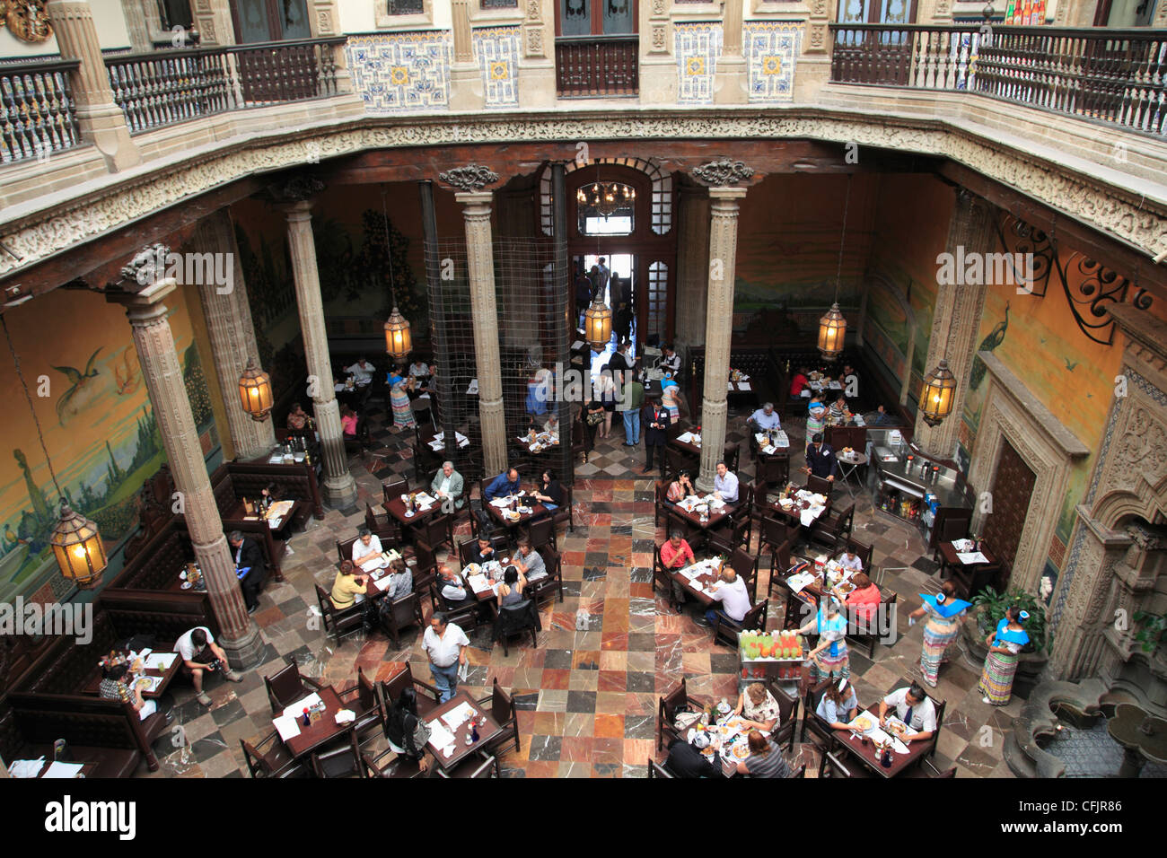 Restaurant Sanborns Department Store Mexico City Mexico