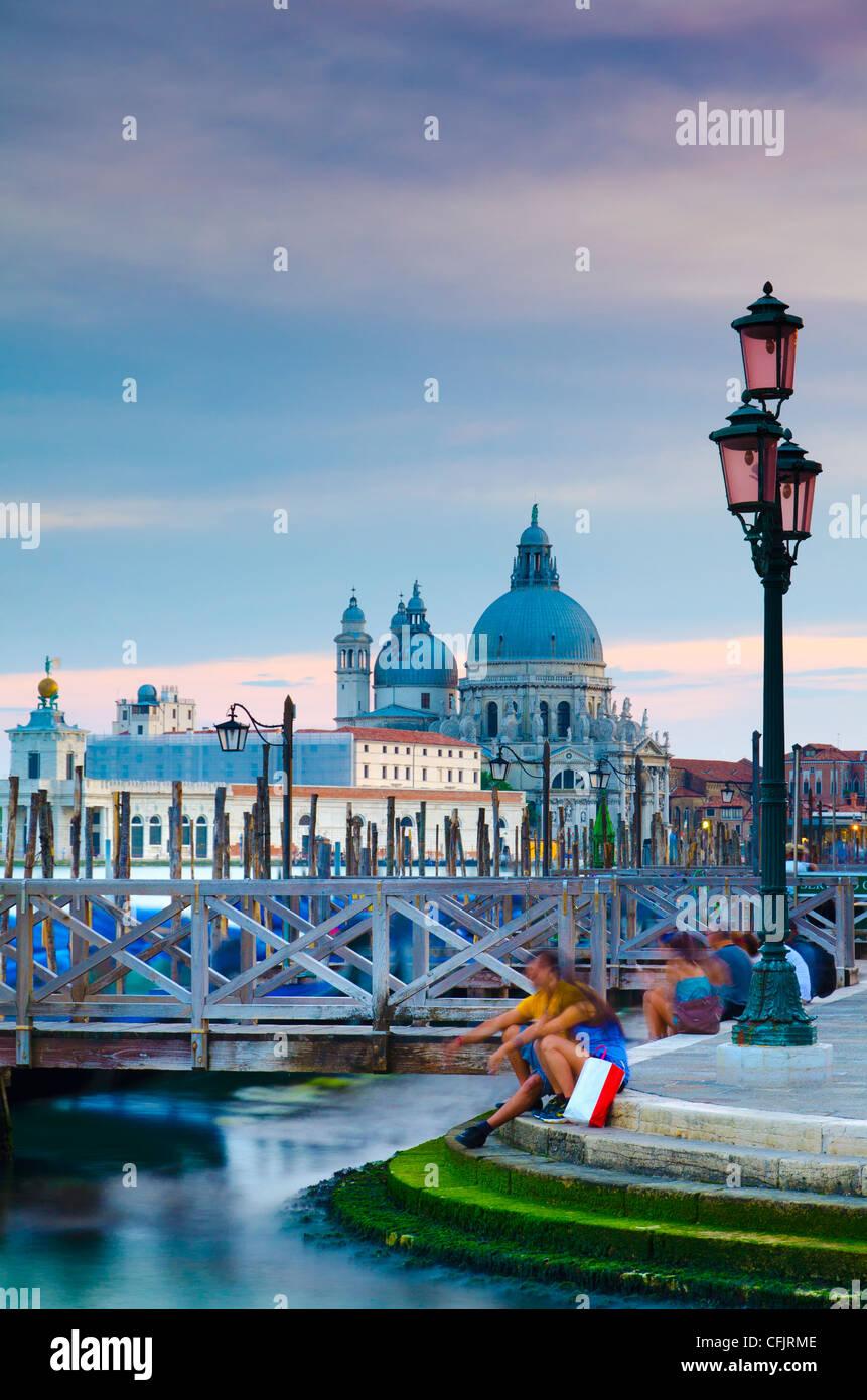 Santa Maria della Salute Church across Basino di San Marco, Venice, UNESCO World Heritage Site, Veneto, Italy, Europe Stock Photo