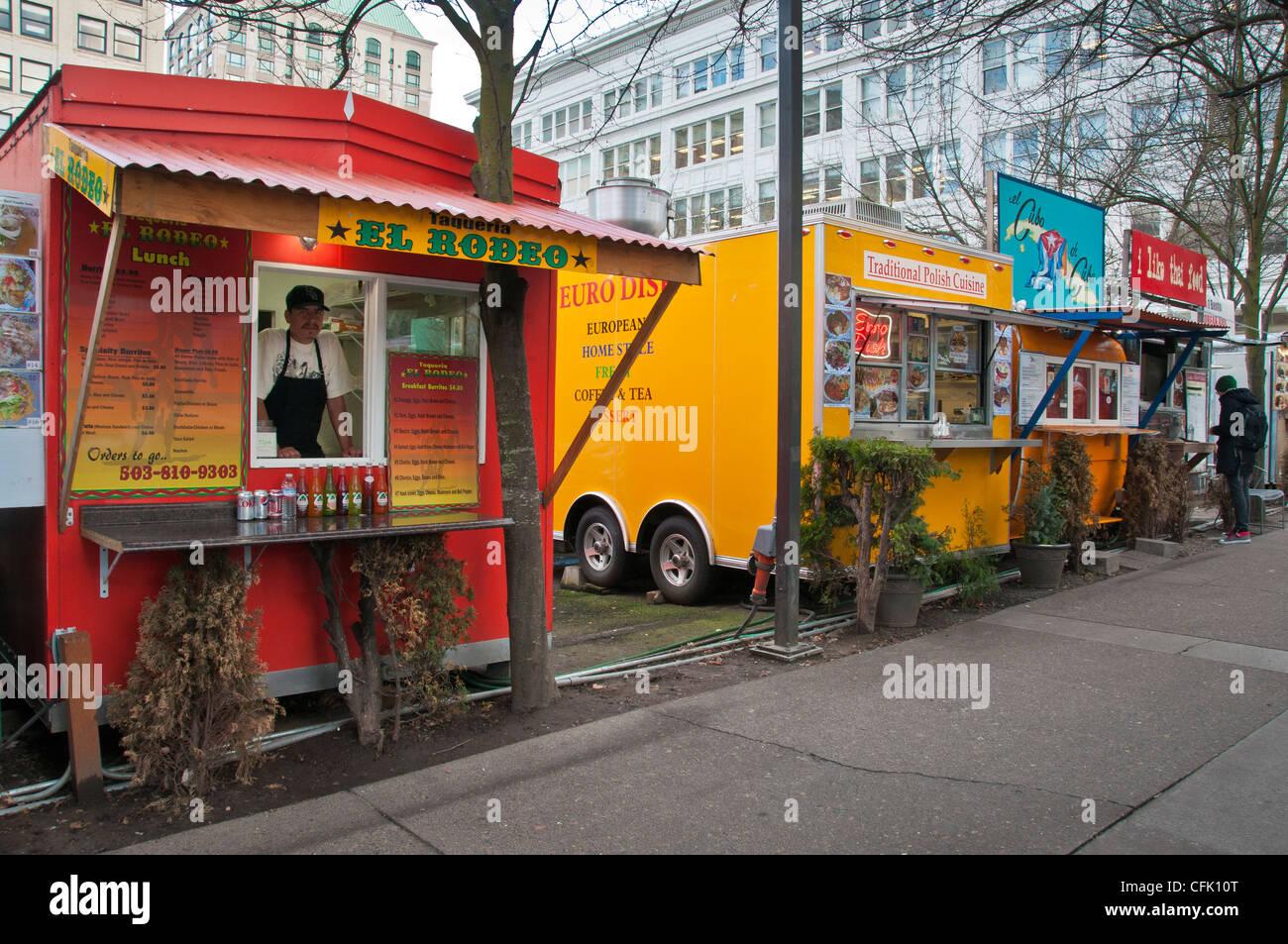 Thai Food Cart Downtown Portland