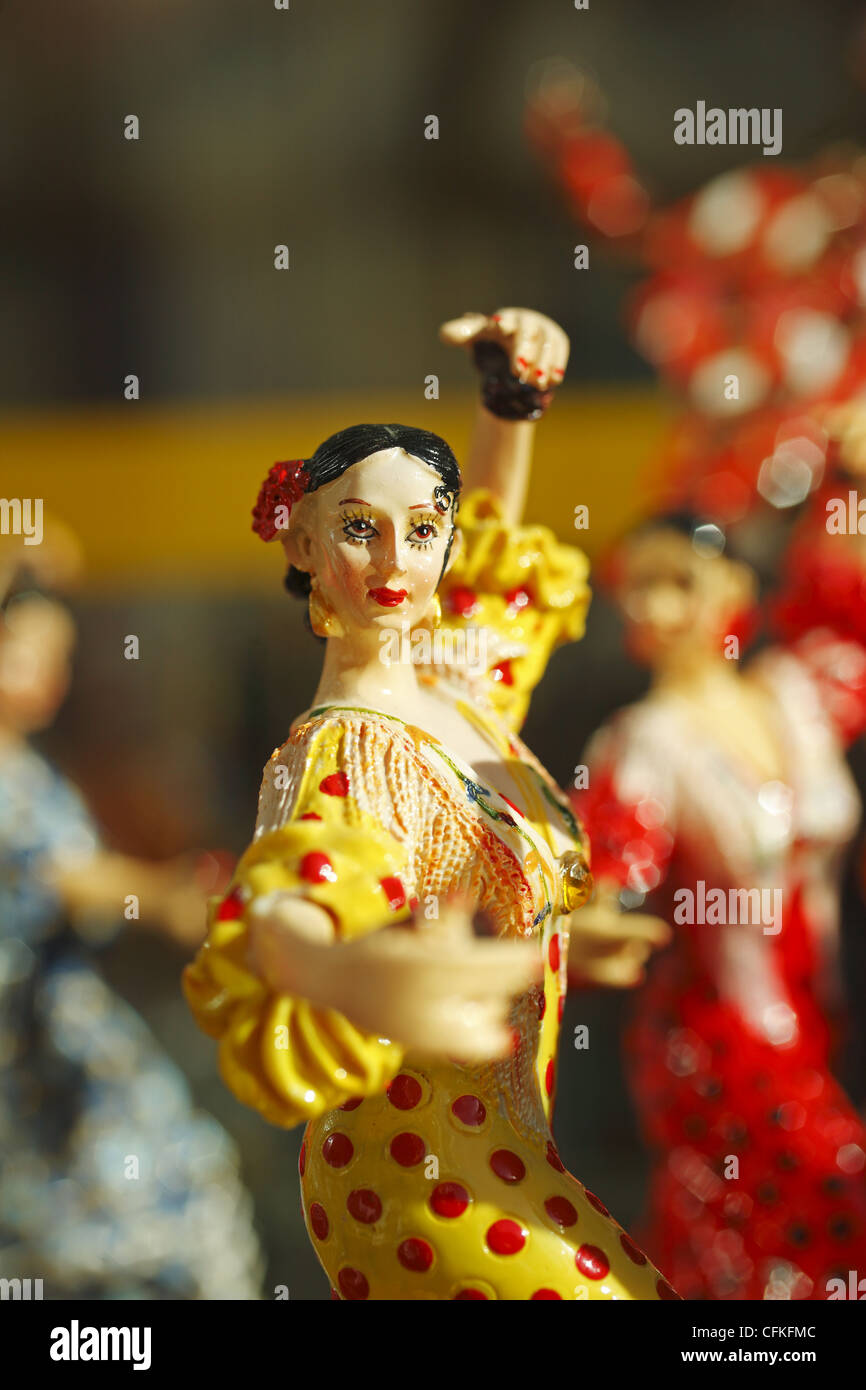 Spanish souvenirs, Spain - Stock Image