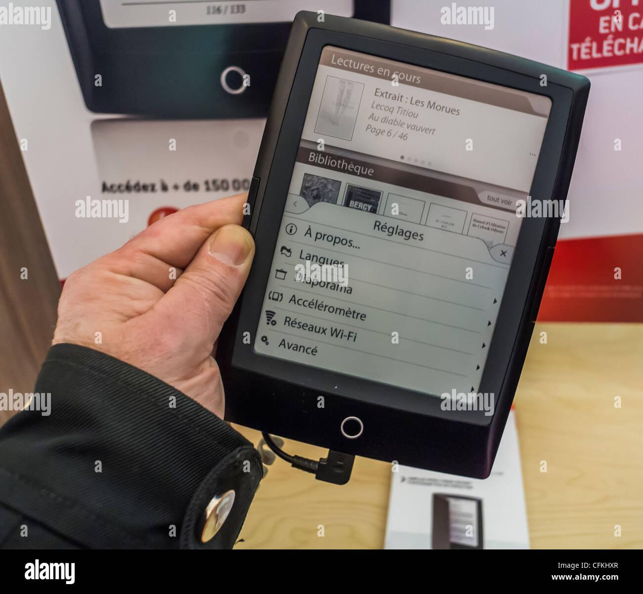Cool Paris France Electronic Book Tablet Virgin Mega Store Cybook Odyssey With Megastore Prospekt Segmuller Weiterstadt
