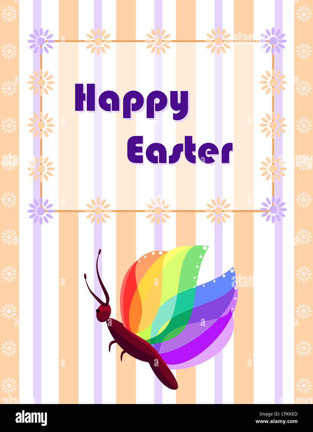 Easter Greeting Card Stock Photos Easter Greeting Card Stock