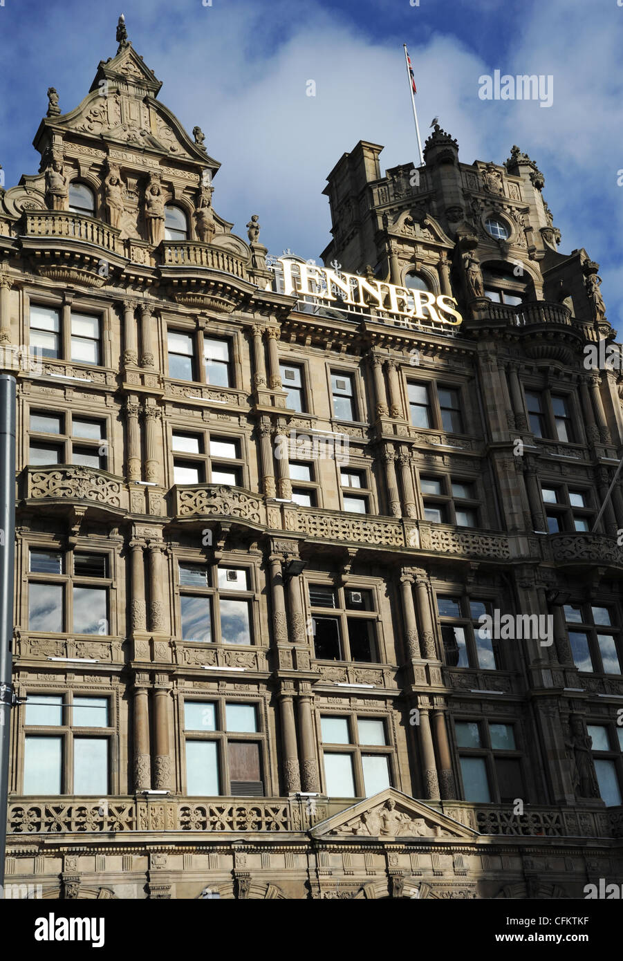 Jenners Department Store, Edinburgh, Scotland. Opened in 1838, it is known as the Harrods of the north. - Stock Image