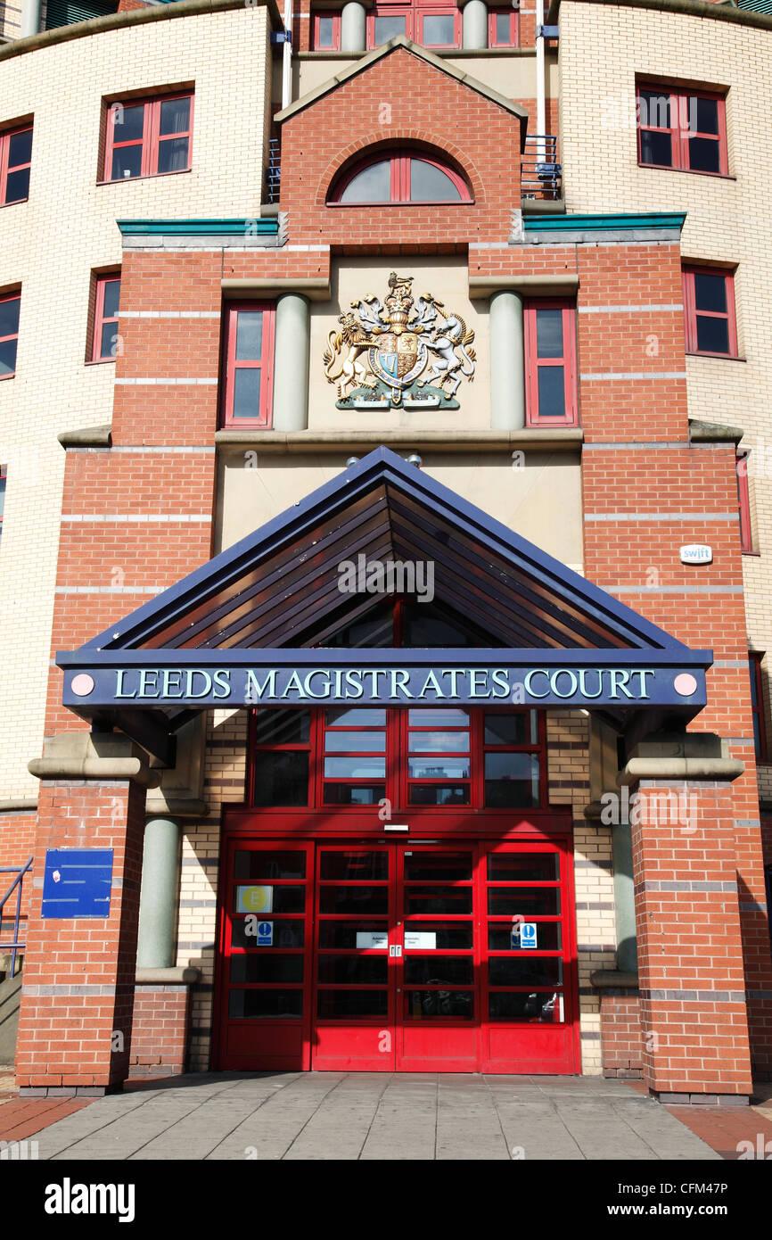 Leeds Magistrates Court , Leeds, England, U.K. - Stock Image