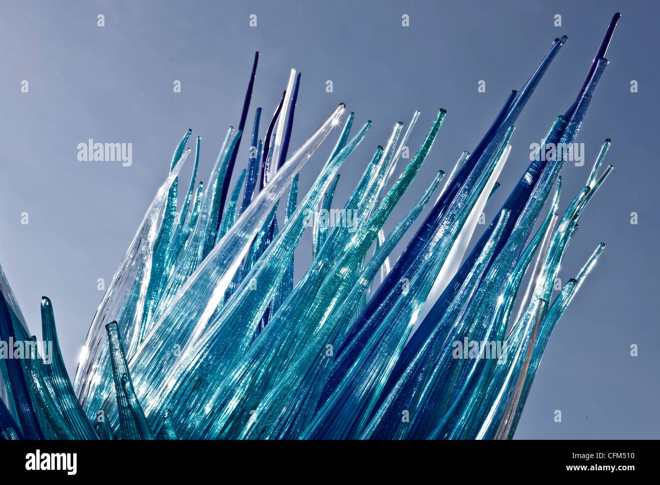 Murano glass sculpture - Stock Image