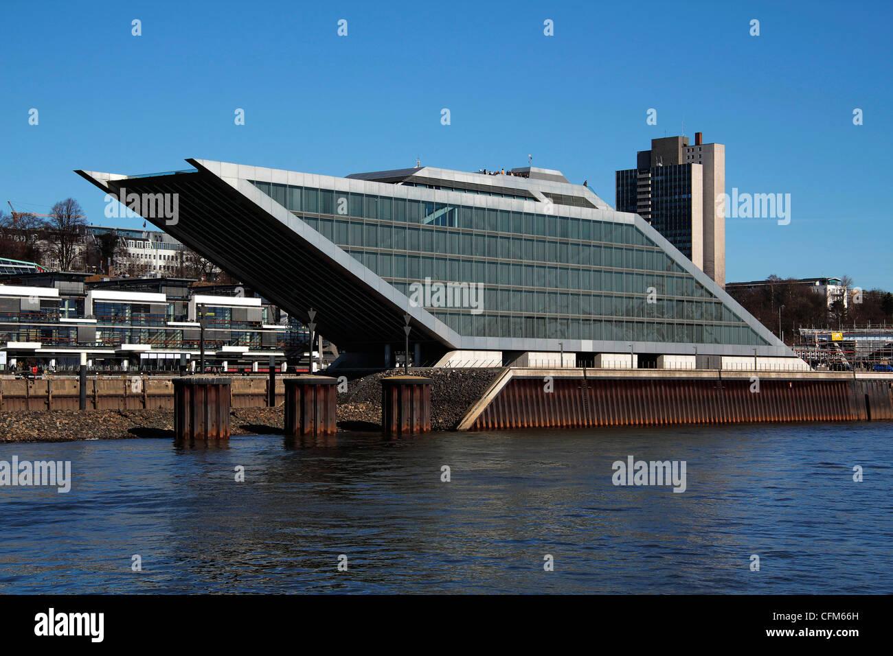 Dockland Building, Hamburg, Germany, Europe - Stock Image